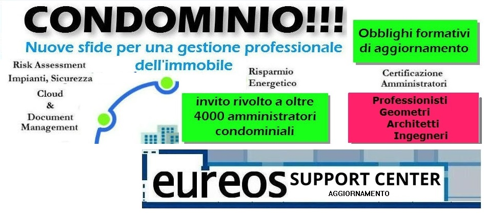 Eureos Support Center Aggiornamento mix